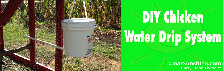 DIY Chicken Waterer
