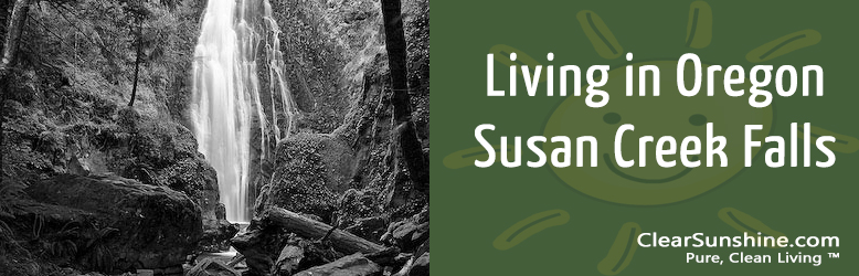 Living in Oregon (Episode #1) – Susan Creek Falls