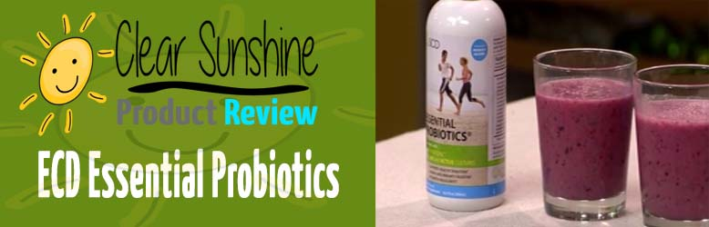 SCD Essential Probiotics Review & Giveaway