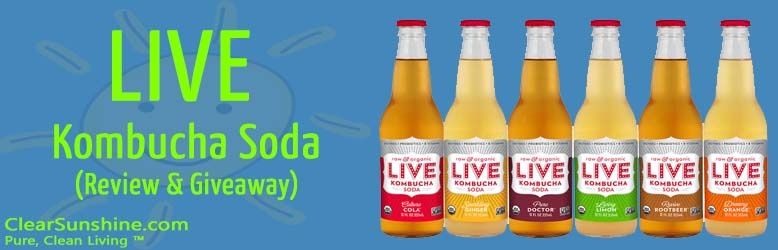 LIVE Kombucha Soda Review