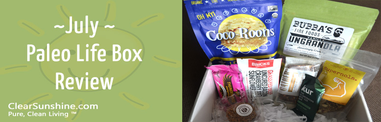 July Paleo Life Box Review